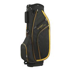Wilson Cart Lite Golf Bag - Black / Yellow Trim / 5-Way Divider wtih 5 Pockets
