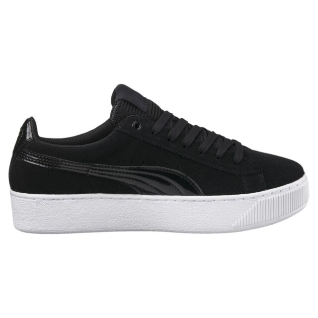 Details about PUMA VIKKY STACKED L scarpe donna sneakers stan pelle smith casual run bianco
