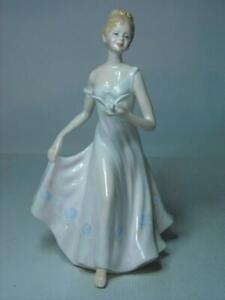 Francesca-VELIA-8-034-Figurine-by-K-Taylor-Fine-Bone-China-Lady-Holding-Bird-Dove