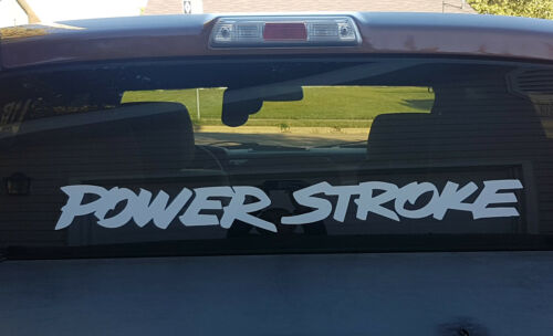 Power Stroke 40x4.5 Decals Stickers Banners 4x4 Diesel 7.3L 6.4L F250 Off Road
