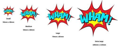 Bien d/'autres choses autocollant cartoon batman style Adhésif Pour Voiture ordinateur portable Van fenêtre