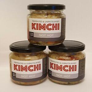 UK Made Kimchi x3 NO-Spice. authentickoreanrecipe