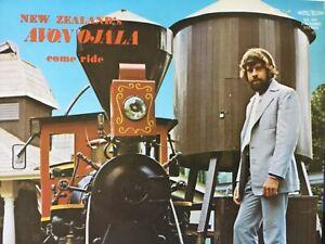 New-Zealand-s-AVON-OJALA-come-ride-vinyl-LP-bonus-CD-TESTED