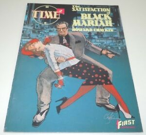 Time-2-Satisfaction-of-Black-Mariah-Comic-TPB-First-Graphic-Novel-Howard-Chaykin