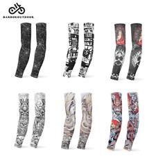 1Pair Bicycle Cycling Running UV Protection Leg Warmers Elastic Leg Sleeves #Cu3