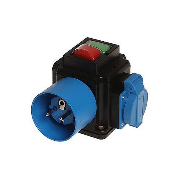 Geräte - Anschlusseinheit 7020, 3KW 230V, 0-I, Unterspannung, VDE 0113, Schuko