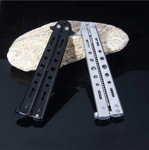 Butterfly Kamm LEGAL Taschenkamm Trainer Training Messer Balisong Übungsmesser