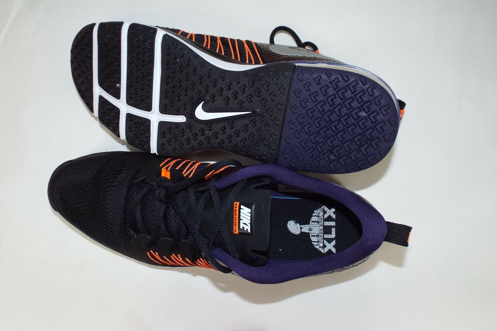 New Hommes 9 NIKE Air Max Effort TR TR Effort AMP Super Bowl XLIX Chaussures  110 705367-008 95a7b3