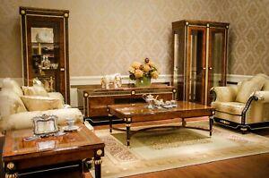 Classique-Sofagarnitur-3-2-1-Baroque-Rokoko-Style-Antique-Canape-Canapes-E69