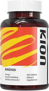 Kion Aminos Essential Amino Acids Tablets Supplement | The Building Blocks for M
