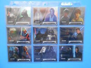 100 cartas de Topps 2016 Star Wars-The Force awakens series 2-base-set