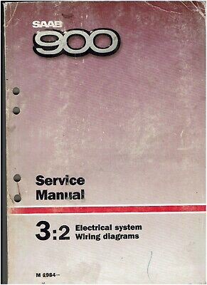 SAAB 900 ELECTRICAL SYSTEM SERVICE MANUAL / CATALOGUE ...