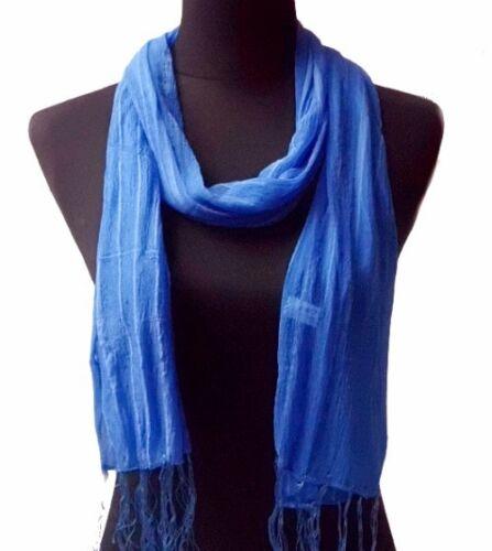 Écharpe femmes foulard écharpe rayé femmes écharpes foulards 180x35cm Franges étole tv10