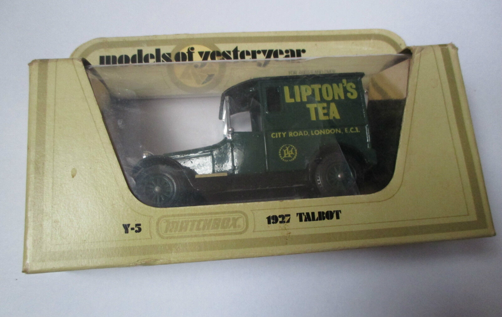 Voiture miniature   Talbot 1927 Lipton (matchbox Y-5 1978 models of yesterday)