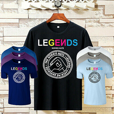Legends Norris Nuts Mens T Shirt Merch Catch Me Knuckles Youtuber Kids Birthday