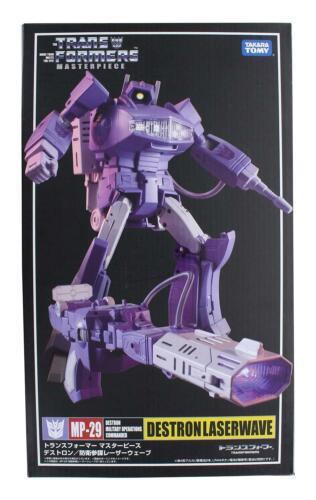 Transformers Masterpiece MP-29 FigureDestron laserwaveBoîtier Endommagé