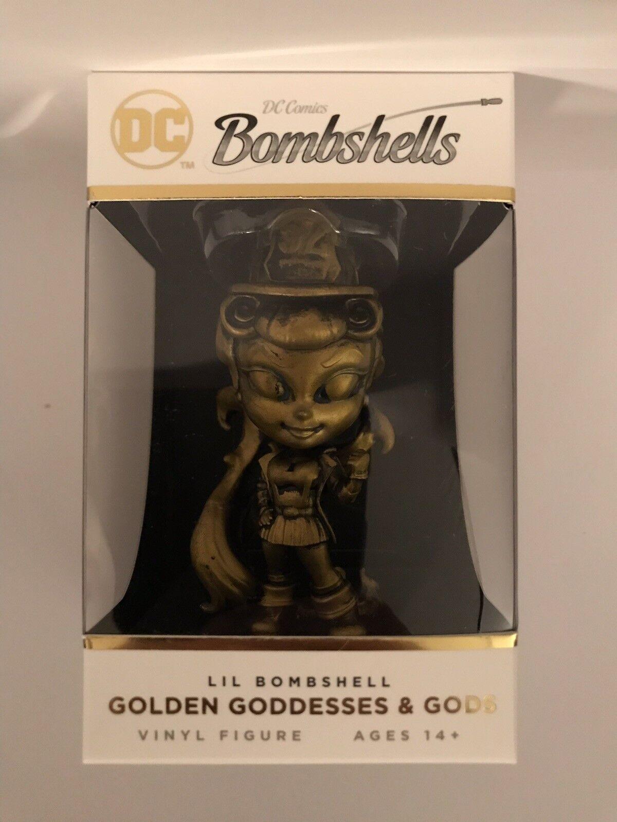 Dc comics bombshells 2 sternenfeuer bronze lil bombshells vinyl - figur