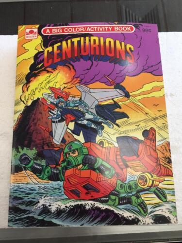 1986 centurions couleur//Activité Coloriage Livre Inutilisé grande forme