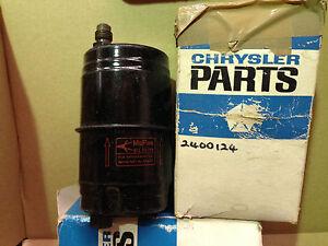 NOS-Mopar-transmission-filter-1960-1964-727-Race-Hemi-Wedge-2400124