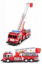 XL Spielzeug Feuerwehrauto US-Feuerwehr 32 cm drehbare Leiter NEU