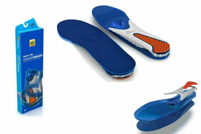 Spenco  Gel Insoles Comfort Insoles Insert Arch Cushion Men Women-All Sizes