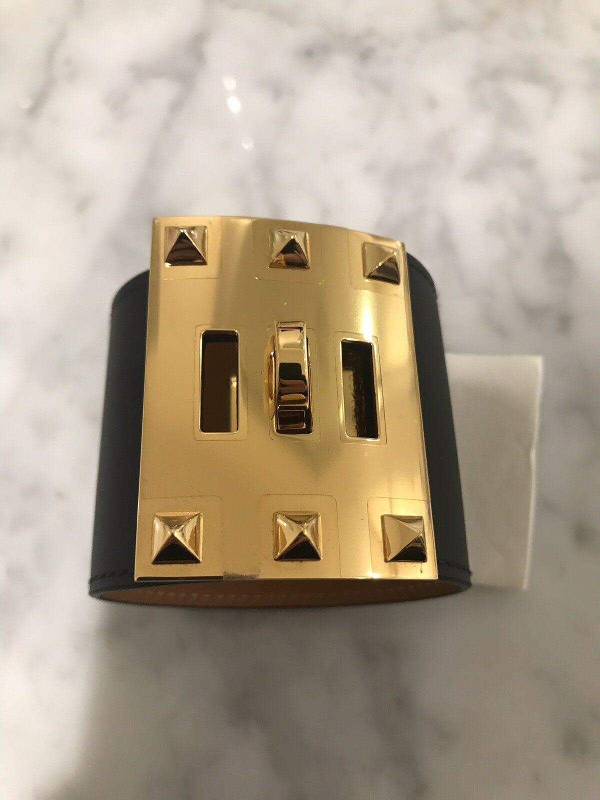 Hermes Extreme Leather Bracelet RARE