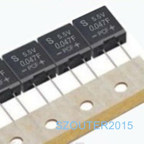 5pcs 5.5V 0.047F DA5R5473 Supercapacitor KORCHIP Farad Capacitor 10.5*9.5*5*5