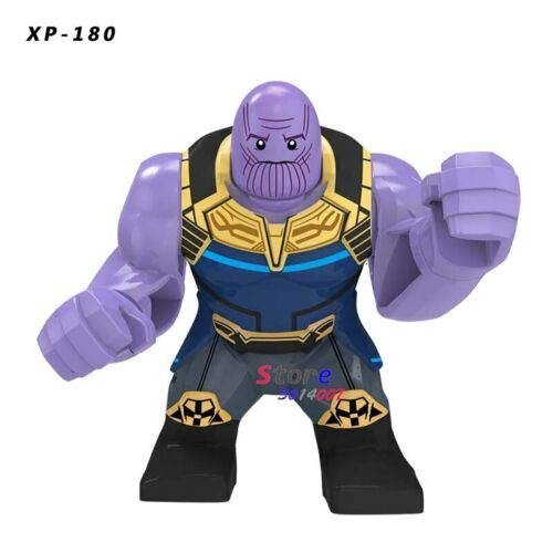 1x marvel dc bande dessinée personnage Avengers guérisseur Grand HULK THANOS machine Spiderman