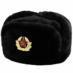 ed180530d9c Image is loading Russian-Winters-Military-Hat-Chapka-Ushanka