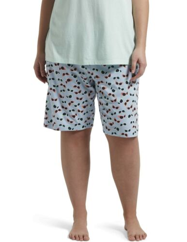 HUE Women/'s Printed Knit Bermuda Pajama Sleep Short X-Large