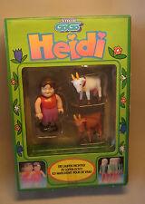 Zeichentrick Figur Heidi von Stellco GoGo 1978 Figur OVP