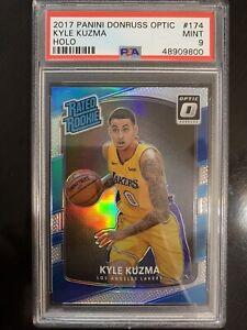 Kyle Kuzma 2017 Donruss Optic Rated Rookies Holo #174 PSA 9 Lakers