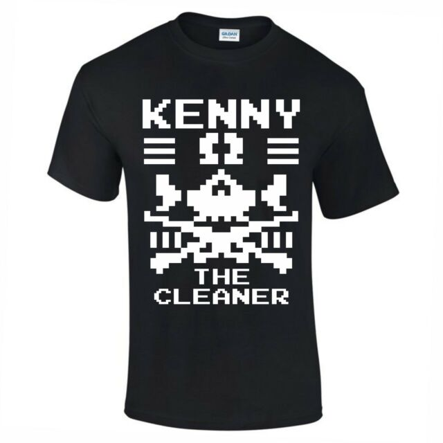 Mens KENNY OMEGA Pro Wrestling Bullet Club T Shirt Bone NJPW UFC S To 5XL