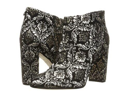 risparmiare sulla liquidazione Brand New New New Sam Edelman Donna Cambell nero oro Damask Jacquard  Ankle stivali  ti renderà soddisfatto