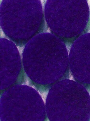 : artisanat cardmaking etc-roses//violettes feutre découpe cercles -: 8 tailles