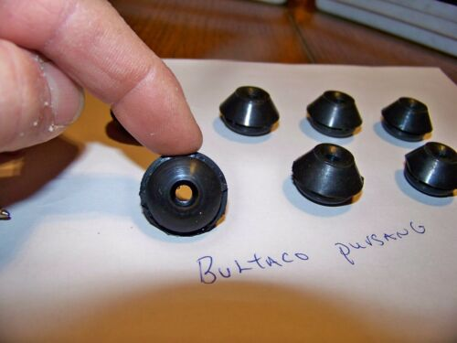 Frontera Rubber Fender  Grommetts  QTY  7 Bultaco Pursang 1 set USA Made  !