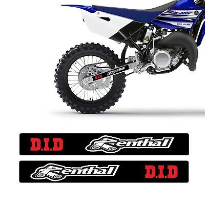 NEW SWING ARM GRAPHICS  HONDA CR125 CR250 1997-2007 RENTHAL MX DECALS D.I.D