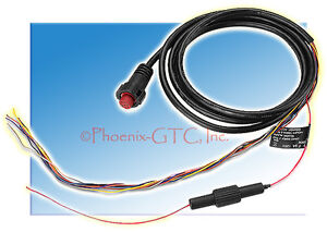 Garmin 010-11970-00 Power Cable 8-Pin EchomapT Series And Gpsmapr
