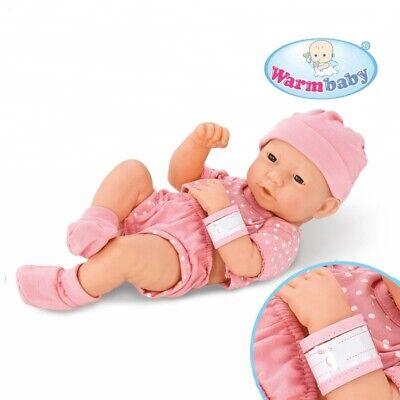 """14"""" Reborn Doll Simulazione Baby Doll Rosa 30cm Vinyl Ragazza Vita Reale Alla Ricerca-mostra Il Titolo Originale"""