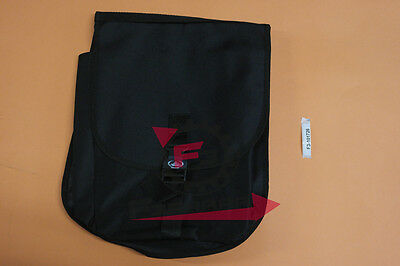 F3-11101704 Coppia borse borsa in cordura TRENDY A pois Bianche per Bicicletta c