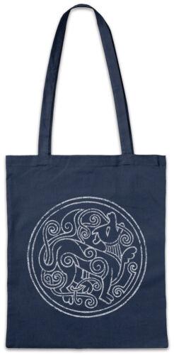 Norse Circle Stofftasche Einkaufstasche Walhalla Thor Odin Wikinger Vikings Loki