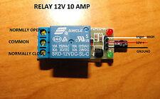 12v relay  for rfid