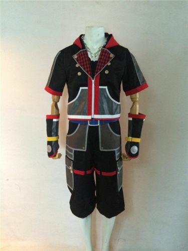 Sora Kingdom Hearts 3 III Cosplay Costume