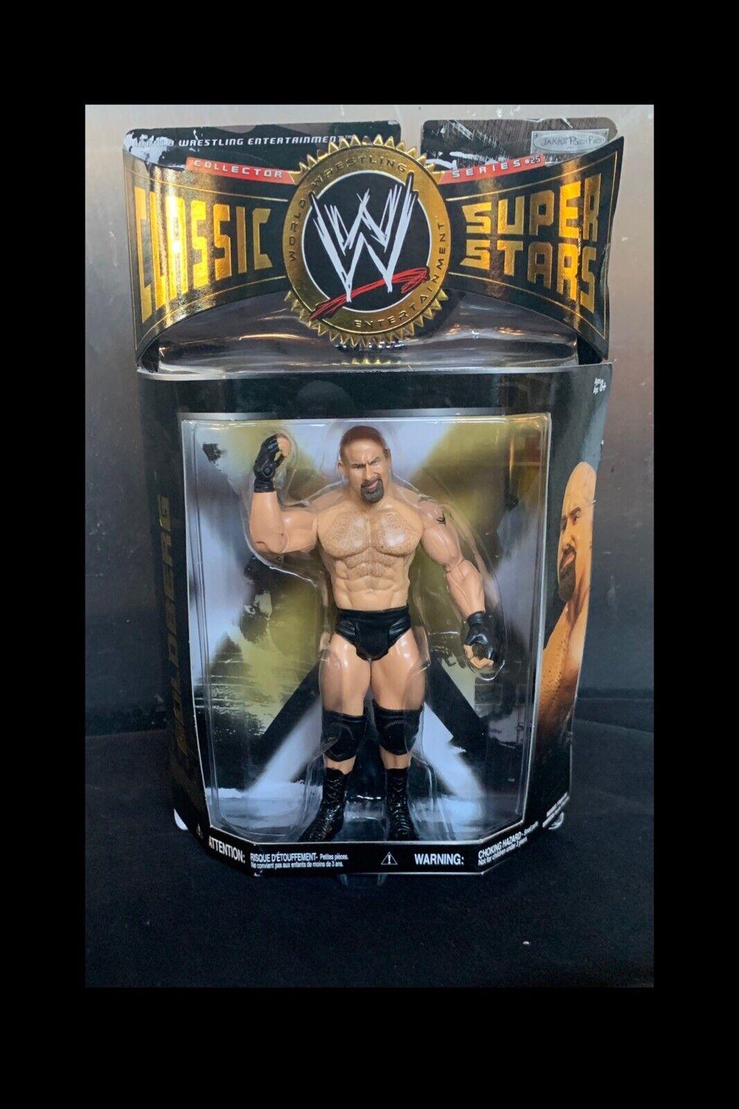 WWE Jakks Pacific WRESTLING classeIC SUPERestrellaS Series 25 oroberg cifra Nuovo in Scatola