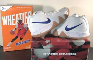 buy online 03219 48a6b Details about BRAND NEW IN BOX NIKE KYRIE 4 UNCLE DREW SIZE 11 WITH  WHEATIES BOX