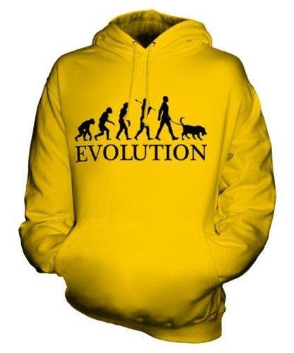 FOXHOUND EVOLUTION OF MAN UNISEX HOODIE  Herren Damenschuhe LADIES DOG ENGLISH GIFT