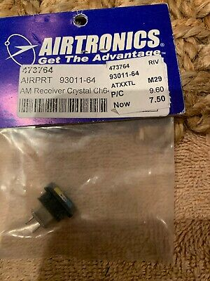 75.970 MHz New Old Stock Details about  /Vintage Airtronics 93011-89 AM Crystal Single