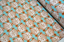 KOKKA JAPAN TASCHEN Designerstoff 0,5m LEINEN CANVAS BÄR BÄREN WALD WILD ROAR