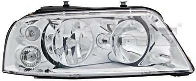 Chrome Headlight Front Lamp Right Fits VW Sharan 2000-2010