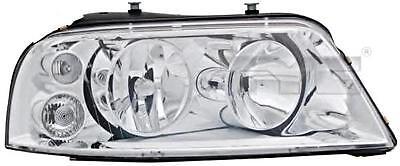 Chrome Headlight Front Lamp Right Fits VW Sharan 2000-2010